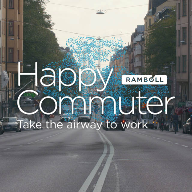 Happy Commuter