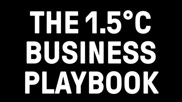 THE 1.5°C BUSINESS PLAYBOOK