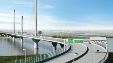 The US is finding infrastructure inspiration from bridges like the Mersey Gateway, UK